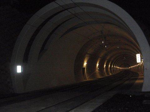 Railway tunnel - injection of dilatation, Prague